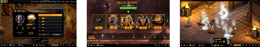 "Probably the most intriguing game ever produced by Betsoft is ""Max Quest: Wrath of Ra"""