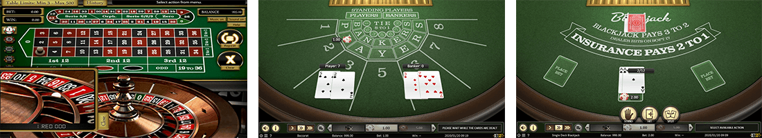 "Among the most popular Betsoft table games are ""Zoom Roulette"" and ""Single Deck Blackjack"""