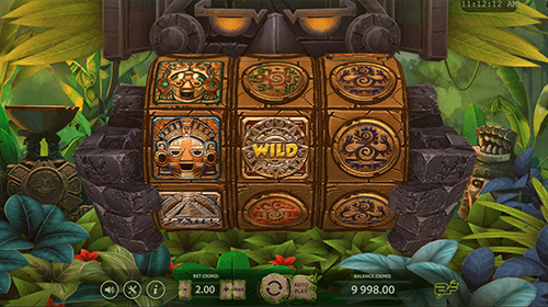 "The ""Aztec Adventure"" is a BF Games 3x3 reel layout slot"