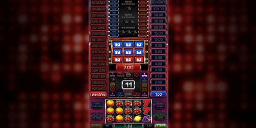 "The Blueprint Gaming slot ""Deal or No Deal™"" has a 3x5 reel layout"