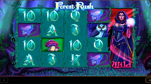 "Cayetano Gaming's slot ""Forest Rush"" has a 5x4 layout with 40 win lines"
