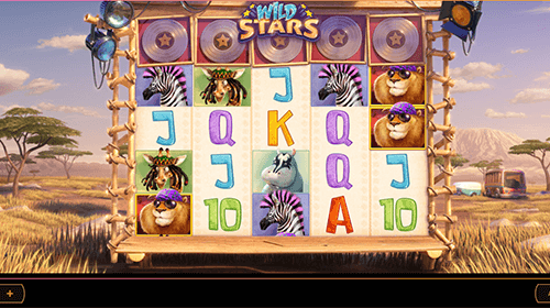 """Wild Stars"" is a 5x5 slot by Cayetano Gaming with 100 pay lines"