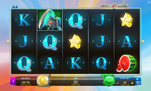 Fruit-O-Matic is a 5x3 fruit themed slot by Connective Games