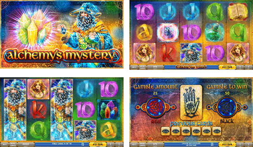 """Alchemy's Elements"" is a DLV mysterious slot with 3x5 reel layout"