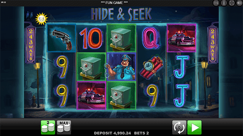 """Hide & Seek"" is a slot by Edict with 243 winning ways and an RTP of 96.07%"