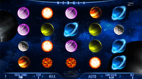 "The ""Nebula"" slot by Espresso Games offers 1344 winning combinations"