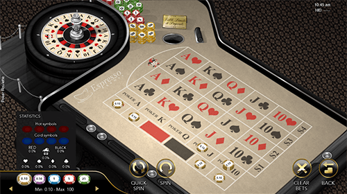 "The ""Poker Roulette"" by Espresso Games is an interesting variant of the popular casino table game"