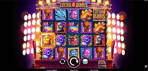 "The Eyecon slot ""Lucha Rumble"" has a 4x5 reel layout and 1024 winning ways"
