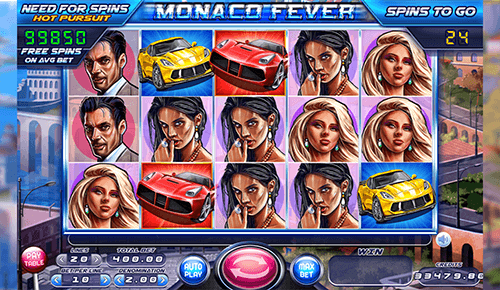 """Monaco Fever"" is a Felix Gaming slot with 3x5 reel layout"