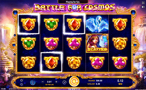 """Battle for Cosmos"" is a GameArt ""anime-inspired"" slot with 30 paylines"