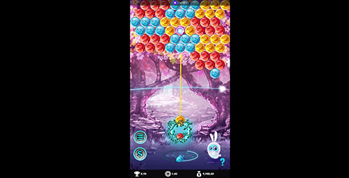 """Bubble Fortune"" is a bubble shooter game by Gensis Gaming"