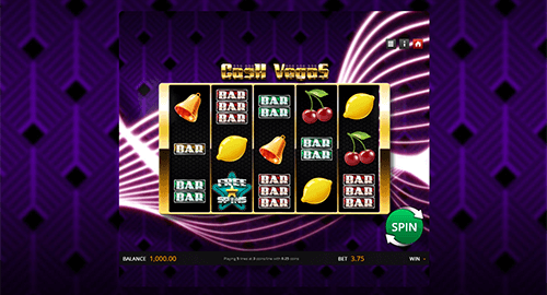 "The Genii's slot ""Cash Vegas"" has a reel pattern of 3x5"