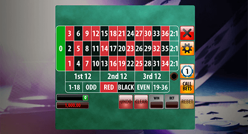 "The ""European Roulette"" by Genii has a simplified betting layout and smooth graphics"