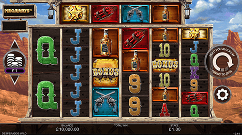 "The Inspired slot ""Desperados Wild Megaways™"" has a 7x6 layout and 117,649 win ways"