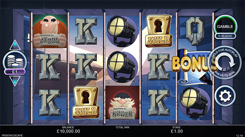 "The Inspired slot ""Prison Escape"" has a 3x5 reel layout and an RTP of 95.9%"