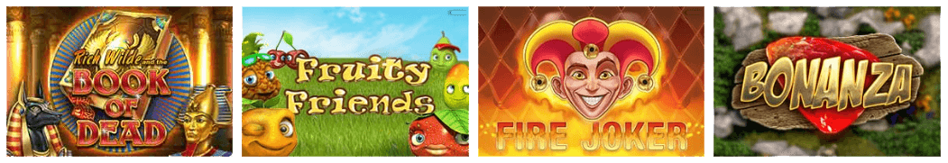 The games selection of Mr Play casino contains more than 750 titles