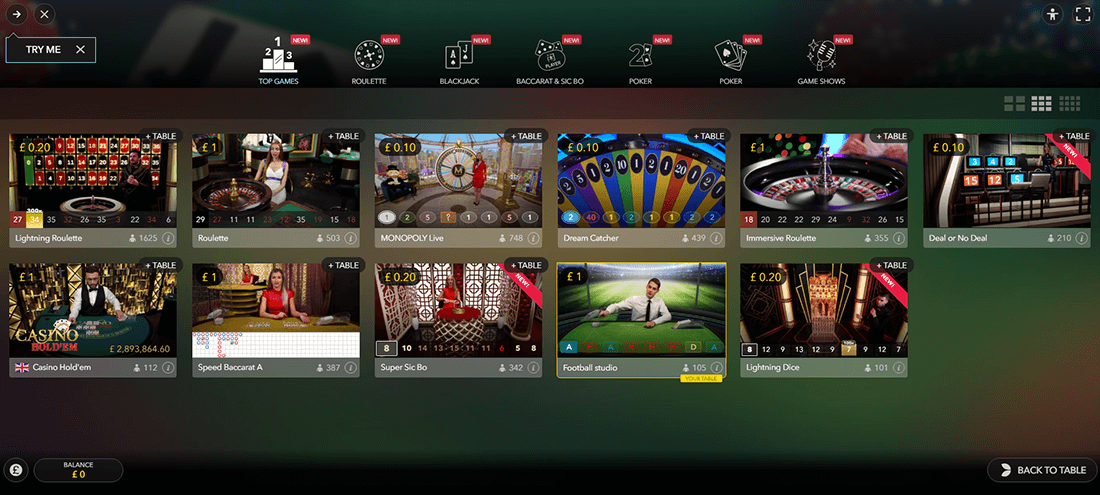 Real Experience in the NetBet Live Casino.