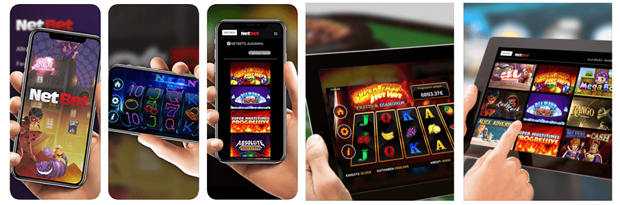 Play everywhere with NetBet Casino Android and iOS mobile apps.