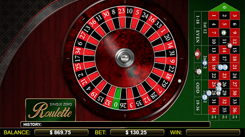 """Single Zero Roulette"" is a NextGen roulette game with an RTP rate of 97.29%"