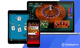 OneTouch creates one of best online casino software for mobile devices
