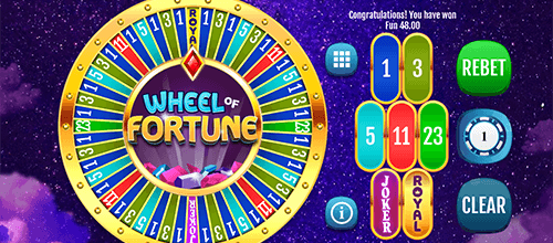 "The ""Wheel of Fortune"" game by OneTouch has an average RTP of 92.39%"