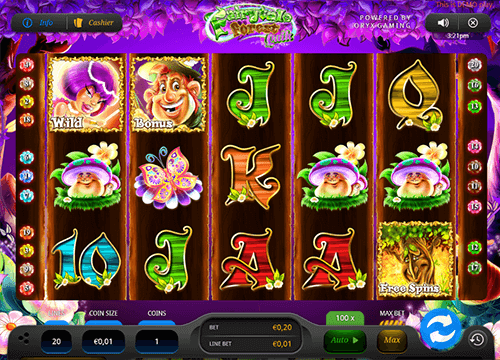 "Oryx Gaming's slot ""Fairytale Forest Quik"" has 5x3 reel layout and 20 pay lines"