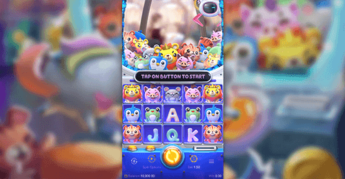 "The PG Soft slot ""Plushie Frenzy"" has 30 fixed pay lines"