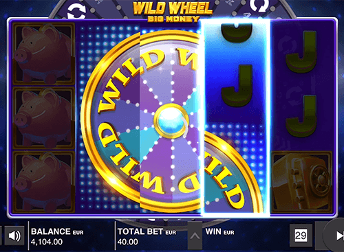 "The ""Wild Wheel"" is a Push Gaming 3x5 reel layout slot"