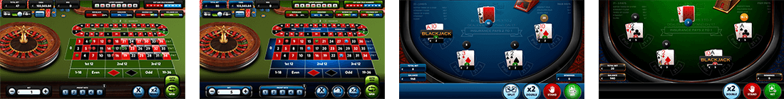 Red Rake Gaming has seven blackjack and four roulette games