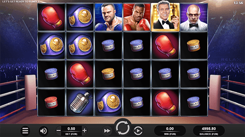 """Let's Get Ready to Rumble"" is a Relax Gaming slot with up to 1,463 winning ways"