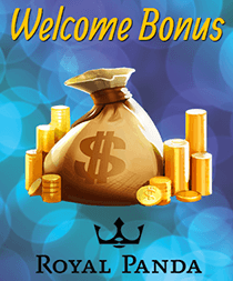 Royal Panda Casino Welcome Bonus