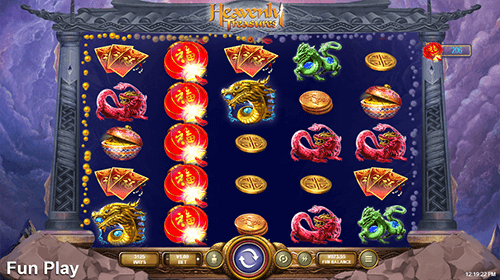 "The ""Heavenly Treasure"" slot by RTG has 3,125 winnings ways and 5x5 layout"