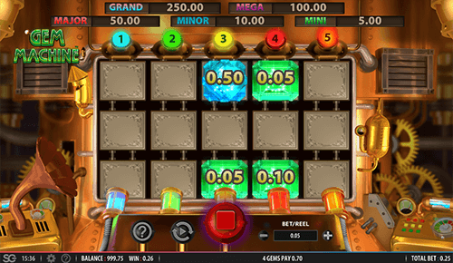 """Gem Machine"" is a slot by SG Digital with an RTP of 97% and many features"