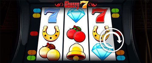 """Cherry 7"" slot by Slot Factory features a 3x3 reel layout"