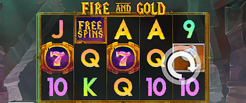 "The ""Fire and Gold"" slot by Slot Factory has nine fixed pay lines"
