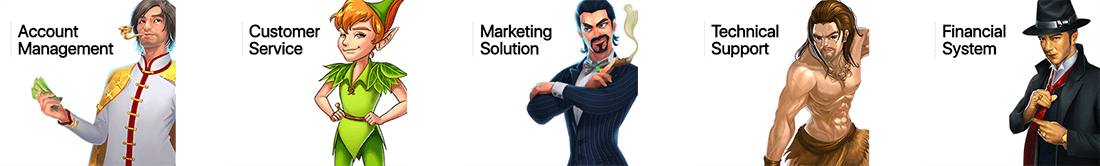 Spadegaming provide many services such as Account Management, Marketing Solutions and many others