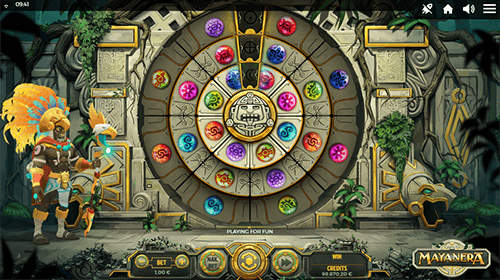 "The ""Mayanera"" slot considered to be the ""mascot"" of Spinmatic"