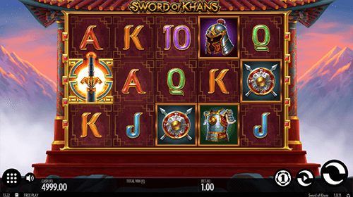"""Sword of Khans"" is a Mongolian-styled Thunderkick slot with 10 pay lines"