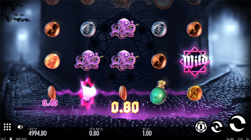 """The Rift"" Thunderkick slot features 17 pay lines, wild symbols, rift spins and a bonus game"