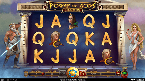 """Power of the Gods: Pantheon"" is a Greek mythology-themed slot from Wazdan"