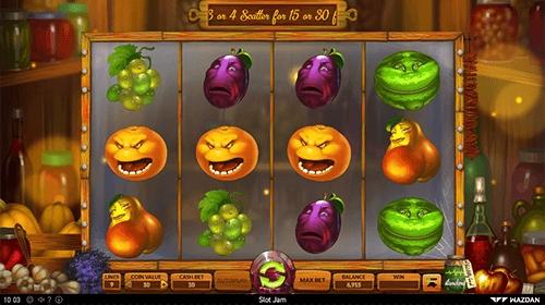 """Slot Jam"" is a slot game from Wazdan with 9 paylines"