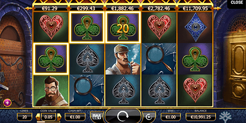 "The ""Holmes and the Stolen Stones"" is a Yggdrasil slot with 20 paylines"