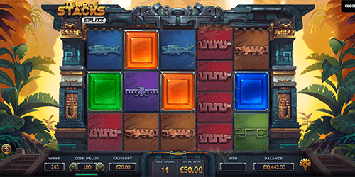 """Temple Stacks"" is an Yggdrasil slot game with up to 248,832 ways to win"